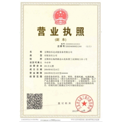 Boleda business license